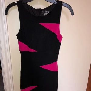 Cache fitted knit sheath dress in 0
